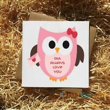 Owl Always Love You - Funny Animal Wedding Anniversary Valentines Day Card