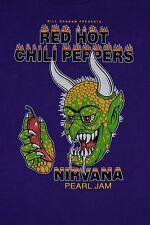 Original 1991 NIRVANA T-Shirt vintage bleach nevermind 90s Pearl Jam RHCP L/XL