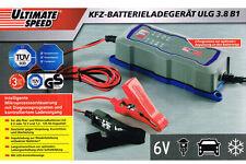 Top cargador cargador de baterías taller 6v & 12v coche mottorad batería de coche
