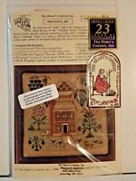 The Heart's Content Fruitful III Counted Cross Stitch Kit Thread Linen
