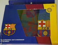 ans garçon 2-3 Ans Pantalon Pack de 3 FC BARCELONA SLIP NEUF EN BOÎTE COTON