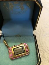 "Juicy couture T-Mobile ""Sidekick II"" Cell Phone Charm, Rare & VHTF!✨🕵️"