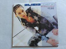 RARE 1 TRACK PROMO CD ALICIA KEYS - FALLIN' - BMG SPAIN 2001 VG+