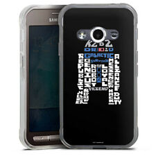 Samsung Galaxy Xcover 3 Silikon Hülle Case - R2-D2 Typo