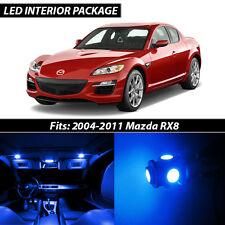 2004-2011 Mazda RX-8 Blue Interior LED Lights Package Kit