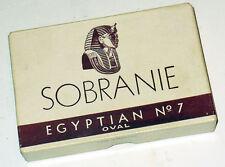 Classic SOBRANIE EGYPTIAN OVAL No. 7 box - nicely used patina