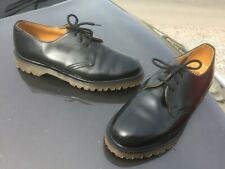Dr Martens 1461 black leather shoes UK 7 EU 41 Made in England
