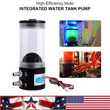 500L/H 10W DC 12V Water Cooling DC Pump Tank 250ML F/pc CPU CO2 Water Cooled US