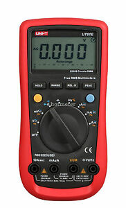 H●UNI-T UT61E AC/DC Modern Digital Auto Ranging Multimeters True RMS