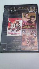 "DVD ""COMPAÑEROS MORTALES / EL HOMBRE DE RIO MALO / AGACHATE MALDITO"" SAM PECKINP"