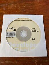 Microsoft Visual Studio 2005 Professional Edition