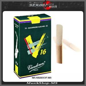 Vandoren 5 Pack für Tenor saxophon  Stärke 1.0 bis 3.0 1/2 B-Stimmung