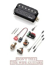 EMG Fat 55 F-B Black Retro Active Floyd Rose Spaced Bridge Humbucker RA-360AF