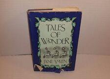 *Read* Tales of Wonder by Jane Yolen 1983 Hardcover Book Dust Jacket