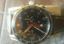 VICTORINOX SWISS ARMY CLASSIC  STAINLESS STEEL WATCH 241198 EXCELLENT CONDITION