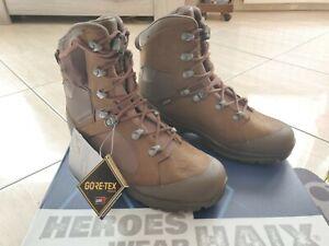 Chaussures de Combat ou de marche Haix Nepal T42 neuves Gore-tex box complète