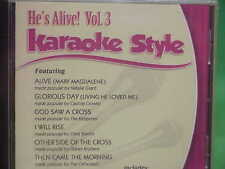 He's Alive~#3 ~ Christian ~Daywind ~Karaoke Style ~ Then Came the Morning ~ CD+G