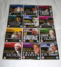 CLASSIC DETECTIVES Collection Complete Set of 12 DVDs