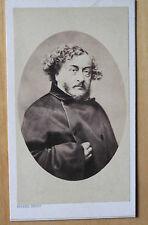 Pierre Petit / Léon Gozlan Ecrivain Carte de visite Vintage / Photo