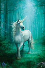 New forest unicorn anne stokes maxi wall poster 61cmX 91cm pp34563 96