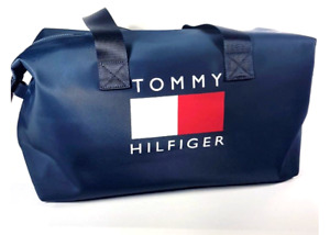 Tommy Hilfiger Large Weekender Bag Duffel Unisex 69J2296-401 Navy Blue $128.00