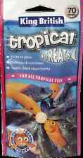 King British Tropical Fish Treats Stick on Tablet Food 40g 70 Tablets