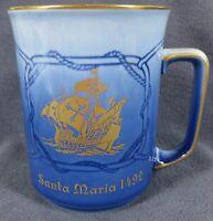 Bing & Grondahl Explorer Mug Santa Maria 1978 Collector Mug Denmark Porcelain