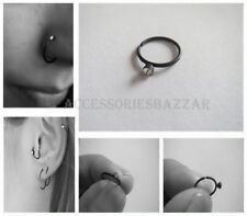 Stainless Steel Acrylic Ring Body Piercing Jewellery