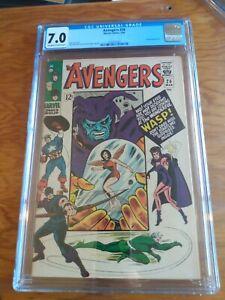 The Avengers 26  CGC 7.0  Attuma Appearance
