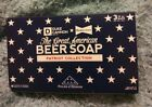 """NEW DUKE CANNON """"BEER SOAP"""" """"BUDWEISER EDITION"""" 10OZ CEDARWOOD SCENT. Lot of 2."""