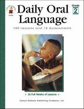 Daily Oral Language, Grade 2 : 180 Lessons Grammar Language Arts Workbook