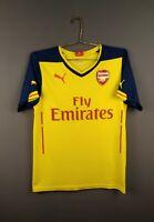 4.5/5 Arsenal jersey Small 2014 2015 away shirt soccer football Puma ig93