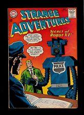 STRANGE ADVENTURES #169 1964  DC COMICS  HORROR/ SCI-FI   ROBOT COP  NICE  FN-