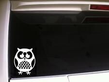 """Owl Car Decal Vinyl Sticker 6""""*F5 Bird Laptop Owls Gift Hoot Barn Cute Gift Art"""