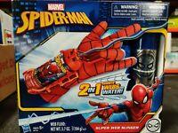 Spider-Man Marvel Super Web Slinger Shooter 2 in 1 Shoots Web or Water Blaster