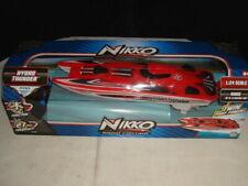 """NIB NIKKO """"HYDRO-THUNDER R/C TWIN PROP RACE BOAT NEW"""