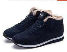 Men/Women Warm Winter Snow Boots Cotton Shoes Hot Canvas high-top Boots Shoes