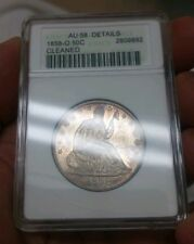 1858-O 50C Seated Liberty Half Dollar ANACS Certified Sharp Prooflike!