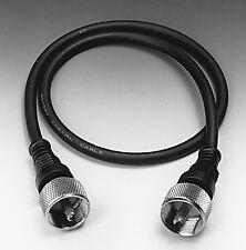 Koaxial-Verbindungskabel  50 cm mit 2x PL259/6 Stecker NC535