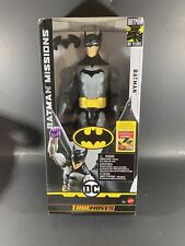 """Batman Missions 80 years Detective Batman 12"""" True Moves DC First Appearance"""