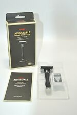 ADJUSTABLE DOUBLE EDGE Razor Feather Hi-Stainless Blade 2 Blade OPEN BOX