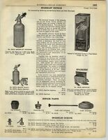 1928 PAPER AD Sparklet Syphon Soda Fountain Seltzer Water Soft Drinks