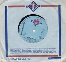 """Love's Unkind/Autumn Changes 7"""" : Donna Summer"""