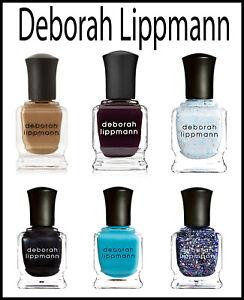 Deborah Lippmann Shimmer Nail Lacquer Set Base Coat Non-toxic   UK
