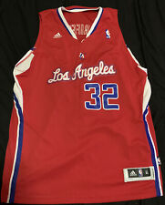 Blake Griffin Los Angeles Clippers Nba Basketball Red Jersey Adidas Youth Xl