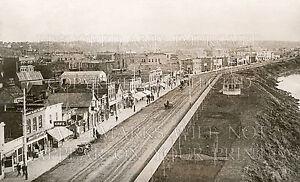 1912 Prince Albert Saskatchewan, River Street 5x7 photo print or request digital