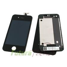 iPhone 4S Retina Display + Backcover Akkudeckel KOMPLETT SET SCHWARZ