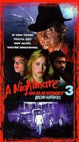 A Nightmare on Elm Street 3 - Dream Warriors (Digitally Remastered VHS) **NEW**