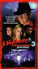 A Nightmare on Elm Street 3 - Dream Warriors (Digitally Remastered VHS) **NEW**