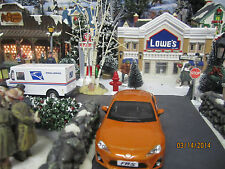 "House Village Die-Cast ""Orange Toyota Scion Fr-S "" plus+ Dept 56/Lemax info"